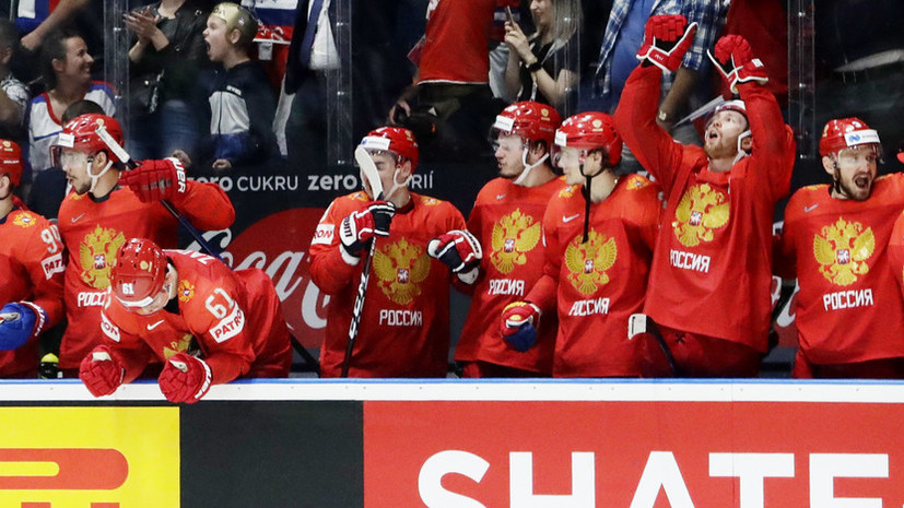 Медведев поздравил сборную России с бронзой ЧМ по хоккею