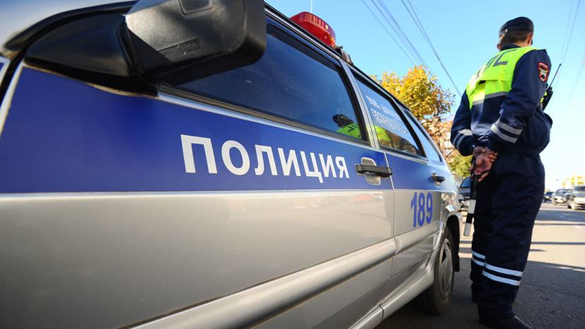 Водитель в Москве сбил сотрудника полиции