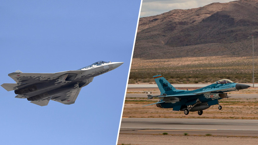 Цветовая имитация: как ВВС США готовят пилотов к бою с новейшими российскими истребителями