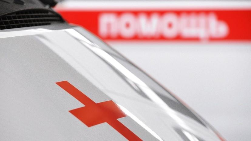 В Ленобласти при обрушении строительных лесов пострадали семь человек