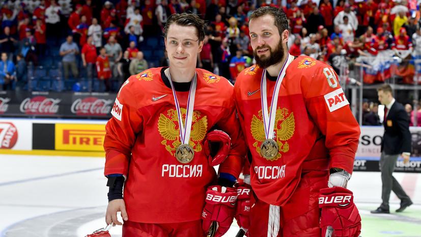 Фетисов назвал Кучерова и Гусева лучшими хоккеистами сборной России на ЧМ