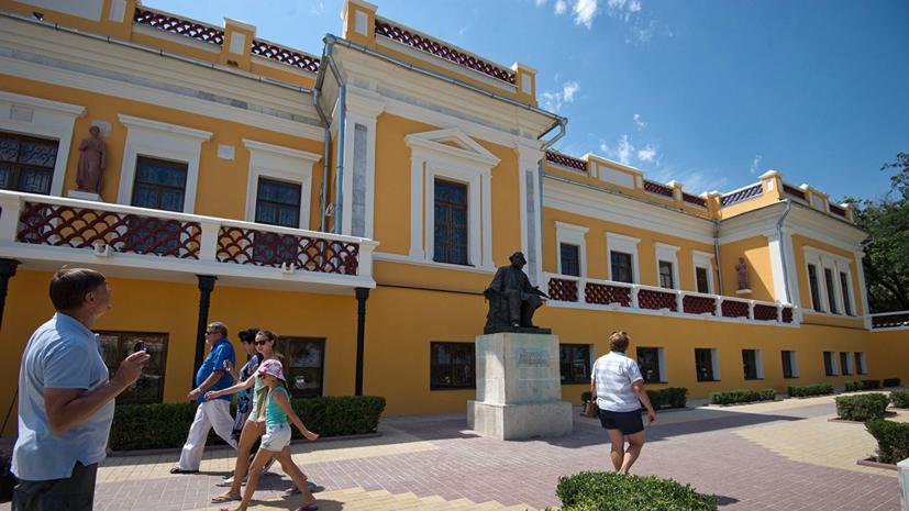Главгосэкспертиза одобрила реконструкцию галереи имени Айвазовского в Феодосии