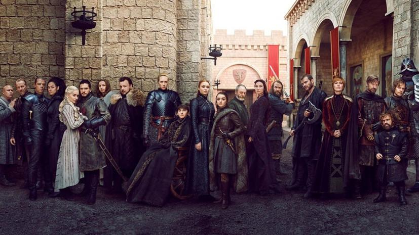 В сети появились видео с реакцией актёров на финал «Игры престолов»