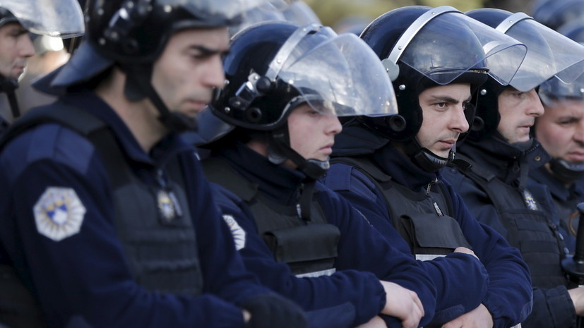 Посольство потребовало освободить задержанного в Косове россиянина