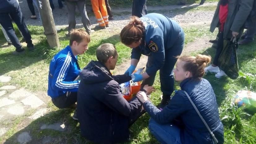 В Кемерове в ДТП с маршруткой пострадали пять человек