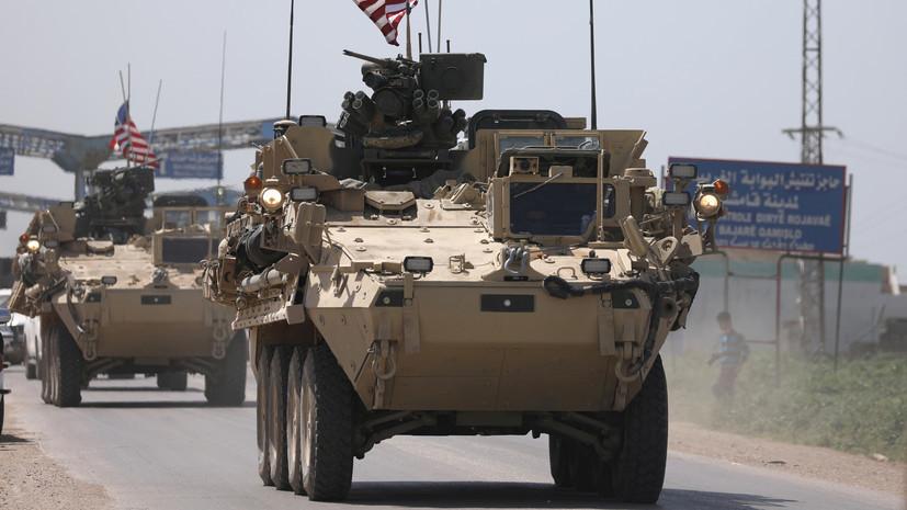 Россия призвала ООН повлиять на США в вопросе вывода войск из Сирии