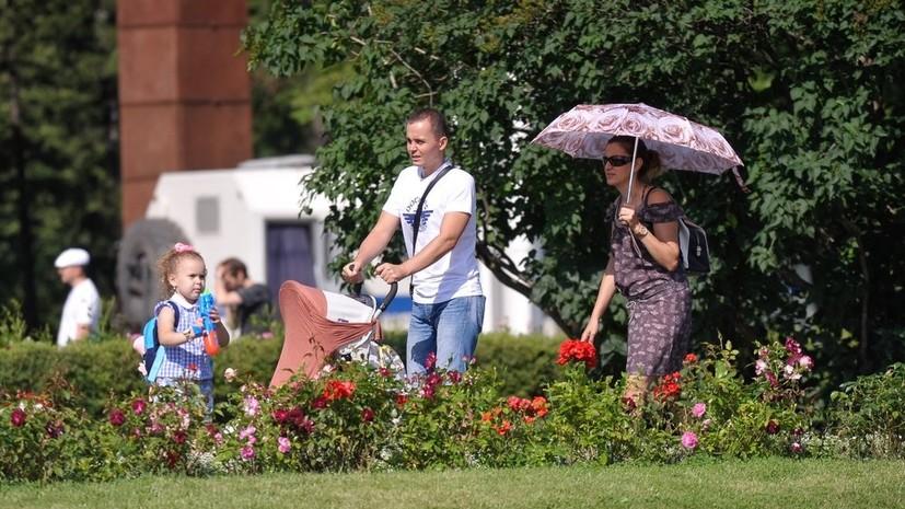 Врач рассказал, как защититься от жары в Москве