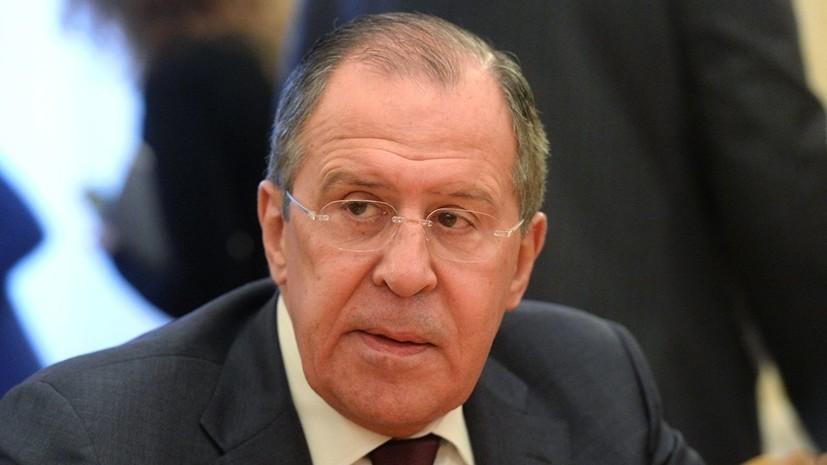 Лавров прокомментировал обострение ситуации в Косове