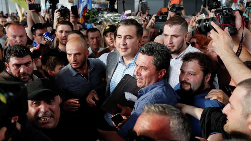 Саакашвили намерен в ближайшее время вернуть украинский паспорт