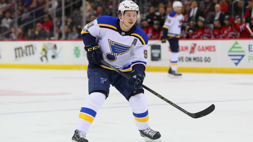 Tarasenko Recognized The Second Star Of The Day Nhl International News