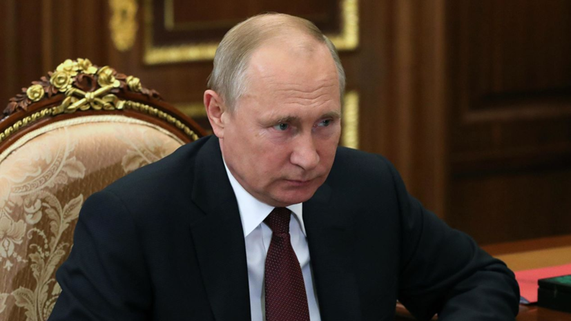 Путин: монополист в искусственном интеллекте станет властелином мира