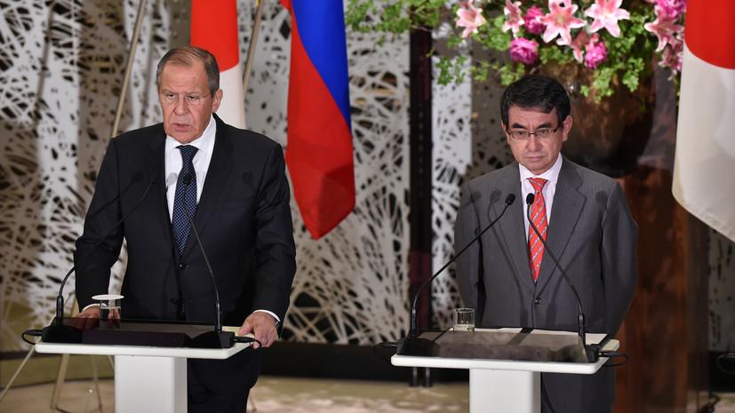 Россия и Япония готовят доклад о совместной хоздеятельности на Курилах