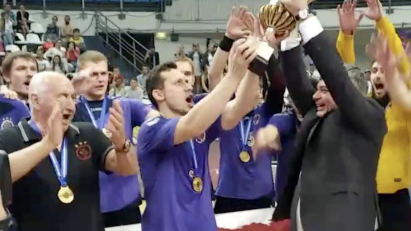 «Чеховские медведи» выиграли ЧР по гандболу в 18-й раз подряд