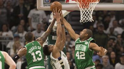 «Милуоки» обыграл «Бостон» и сравнял счёт в серии плей-офф НБА
