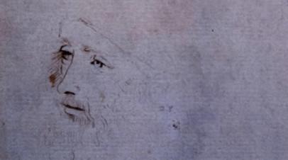 В Лондоне найден новый прижизненный портрет и наброски да Винчи