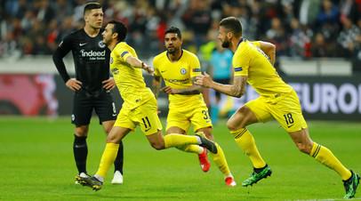 «Айнтрахт» и «Челси» сыграли вничью в полуфинале Лиги Европы