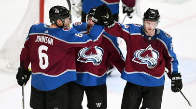 «Колорадо» одолел «Сан-Хосе» и сравнял счёт в серии второго раунда плей-офф НХЛ