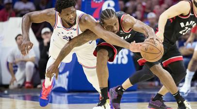 Дабл-дабл Эмбиида помог «Филадельфии» выйти вперёд в серии плей-офф НБА с «Торонто»