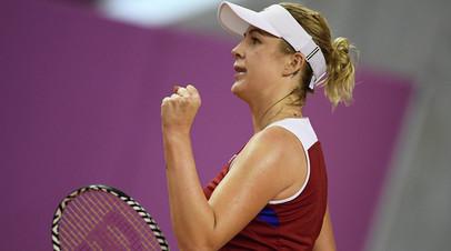Павлюченкова проиграла Остапенко на старте турнира WTA в Мадриде