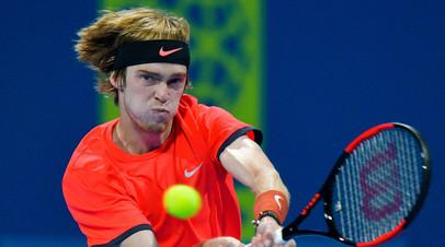 Теннисист Рублёв пропустит остаток грунтового сезона из-за травмы