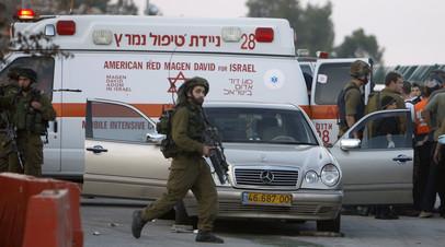 В Израиле в результате ракетного обстрела погибли два человека