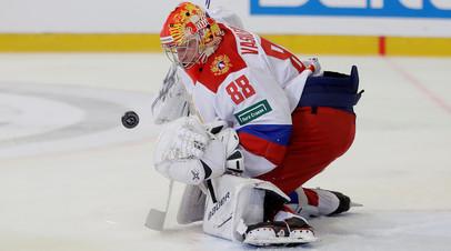 Сборная России заняла третье место на Чешских хоккейных играх