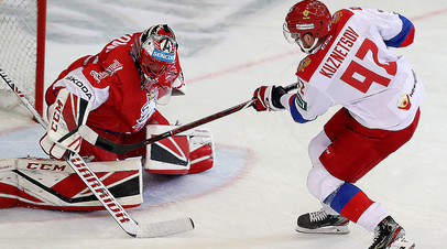 «Теперь настраиваемся на чемпионат мира»: что говорили игроки и тренер сборной России по хоккею после победы в Евротуре
