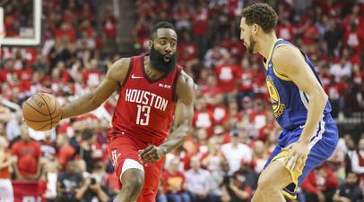 «Хьюстон» обыграл «Голден Стэйт» и сравнял счёт в серии плей-офф НБА