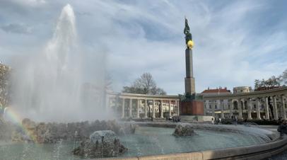 Посольство России назвало трусостью осквернение памятника советским воинам в Вене