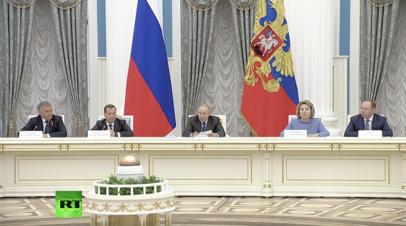 «Мы нередко сталкиваемся с инертным подходом»: Путин о реализации нацпроектов
