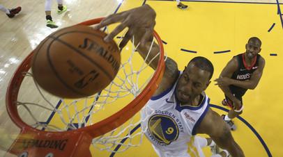 «Голден Стэйт» вышел вперёд в серии второго раунда плей-офф НБА с «Хьюстоном»