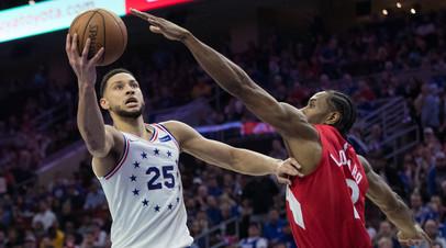 «Филадельфия» сравняла счёт в серии второго раунда плей-офф НБА с «Торонто»