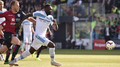 «Лацио» обыграл «Кальяри» в матче Серии А