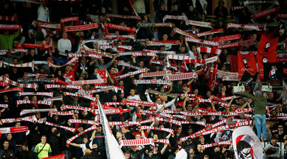 Фанаты «Монако» попытались прорваться на поле после матча с «Нимом»