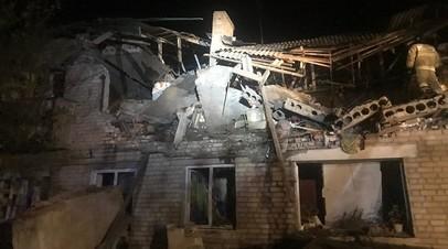 В посёлке Ростовской области ввели ЧС после взрыва газа в жилом доме