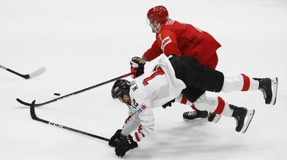 Телегин забил за сборную России в своём первом матче на ЧМ-2019 по хоккею