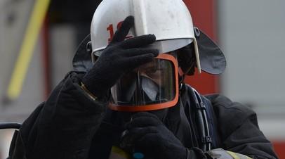 В Ростове произошёл пожар в строящемся многоэтажном доме