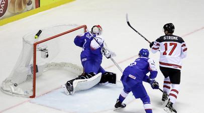 Болельщики сборной Словакии освистали гимн Канады после матча на ЧМ-2019