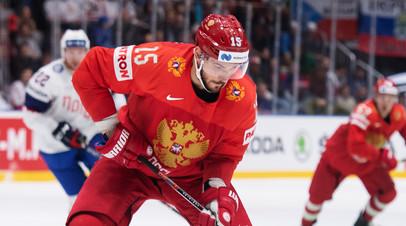 Форвард сборной России по хоккею Анисимов рассказал о пользе разгромной победы над Италией на ЧМ
