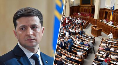 Владимир Зеленский/Верховная рада Украины