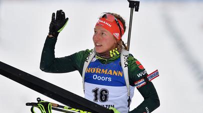 По пути Нойнер: почему немецкая биатлонистка Дальмайер неожиданно завершила карьеру в 25 лет