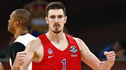 Баскетболист ЦСКА Нандо де Коло