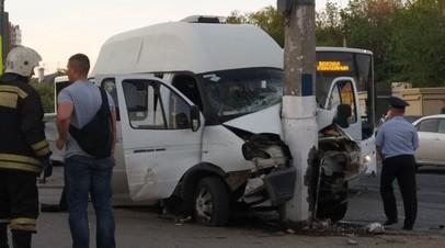 В Волгограде задержали водителя грузовика после ДТП с маршруткой