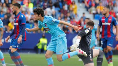«Атлетико» не сумел обыграть «Леванте» в заключительном туре Примеры