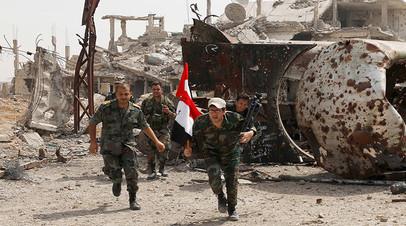 Сирийские правительственные войска. Архивное фото