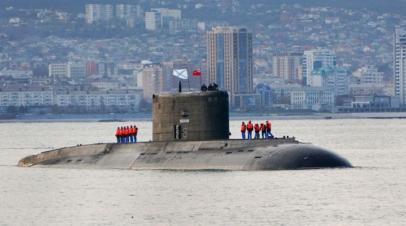 Подлодка ЧФ «Ростов-на-Дону» вышла в море для совместных учений с морской авиацией