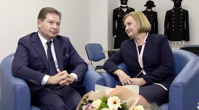 Андрей Безруков и Елена Вавилова