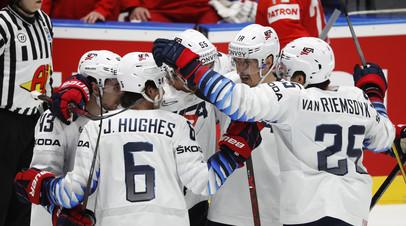 Сборная США сократила отставание от России в конце четвертьфинала ЧМ-2019