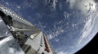 Пользователи сети заметили в небе над Москвой «поезд» из спутников