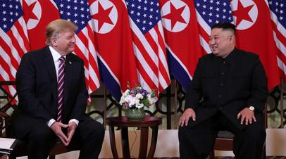 «Кроме диалога, вариантов нет»: с чем связано смягчение риторики Трампа в отношении КНДР